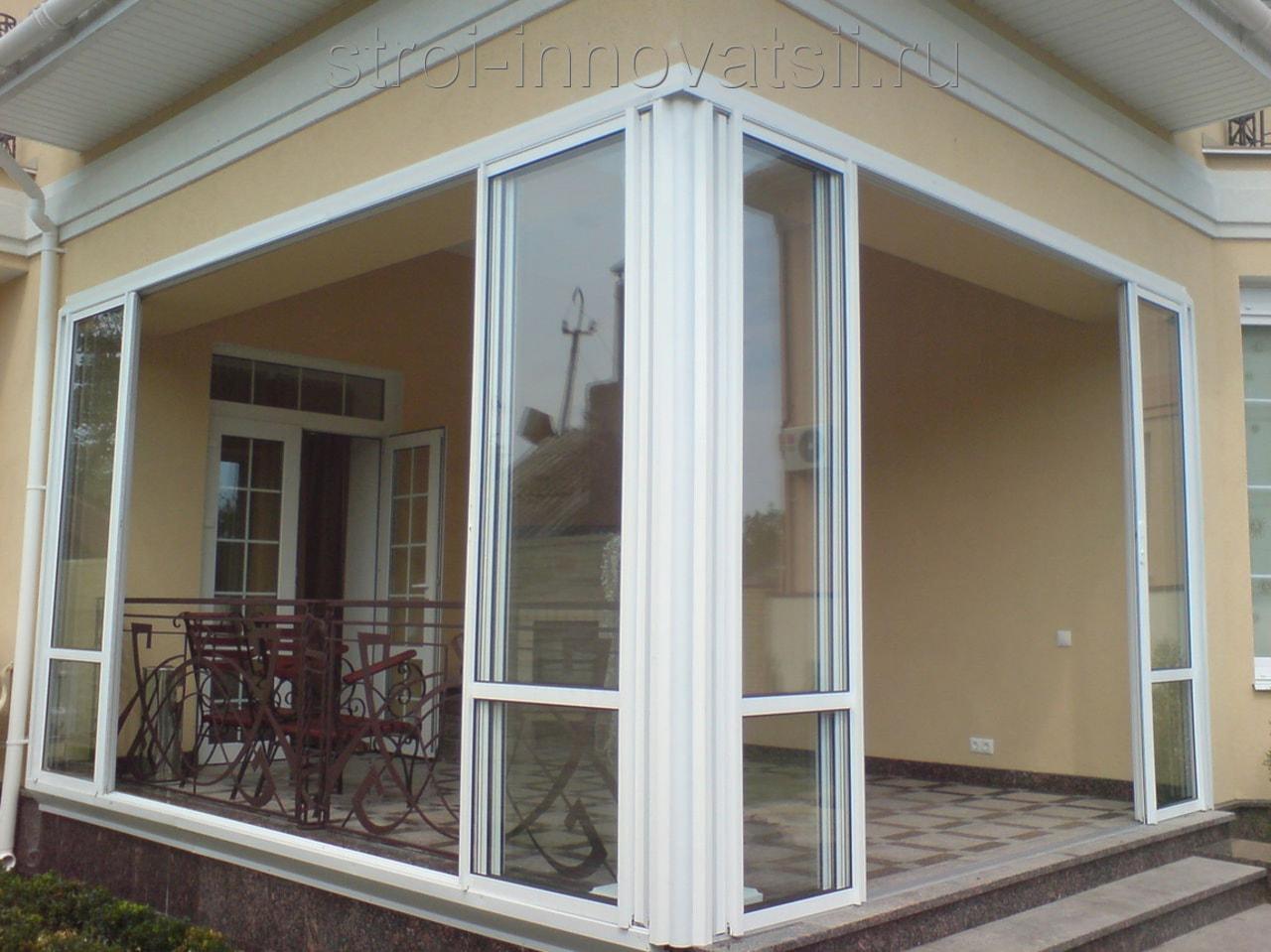 """Стеклянные входные двери для частного дома фото компания """"ke."""