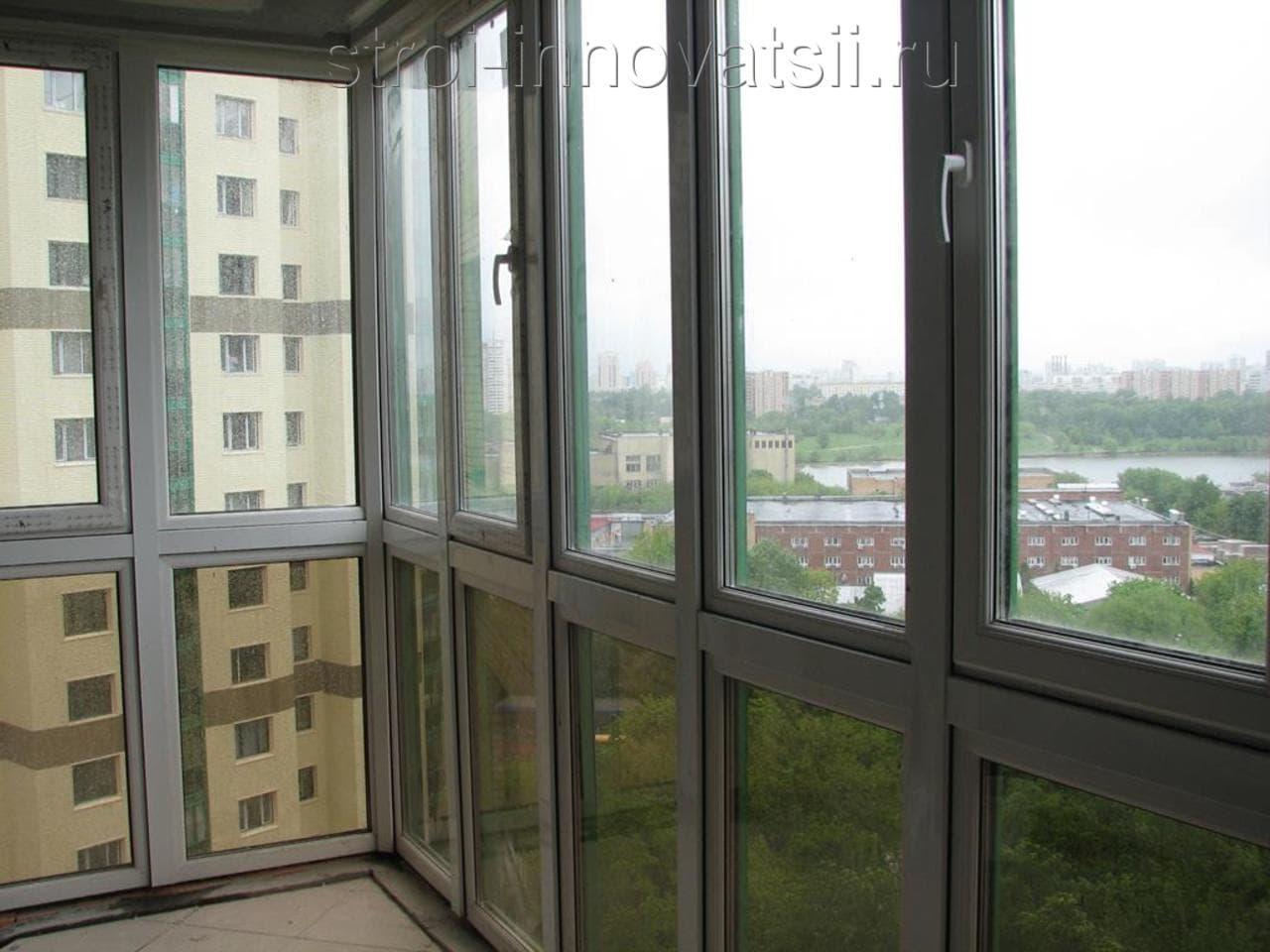 Панорамное остекление балконов и лоджий: преимущества и недо.