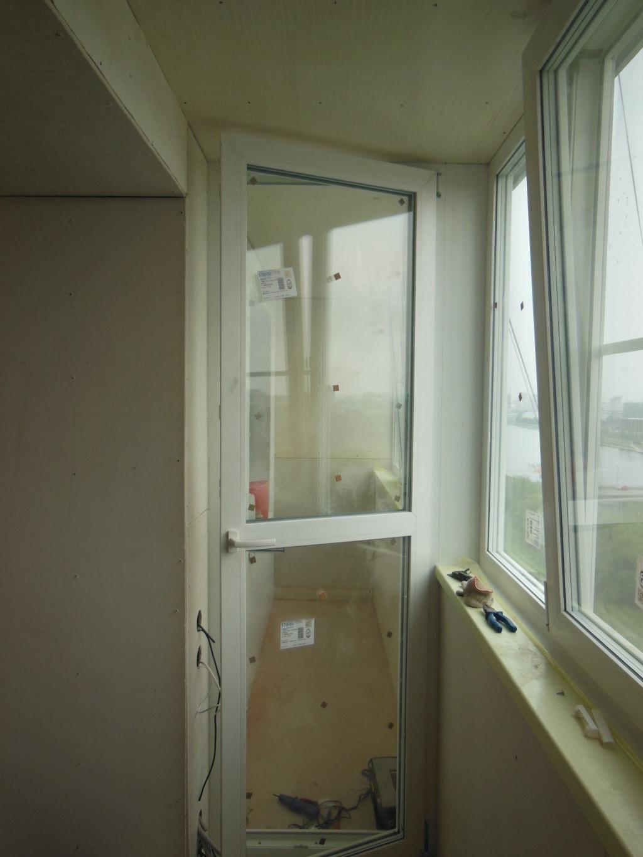 Перегородка для балкона.