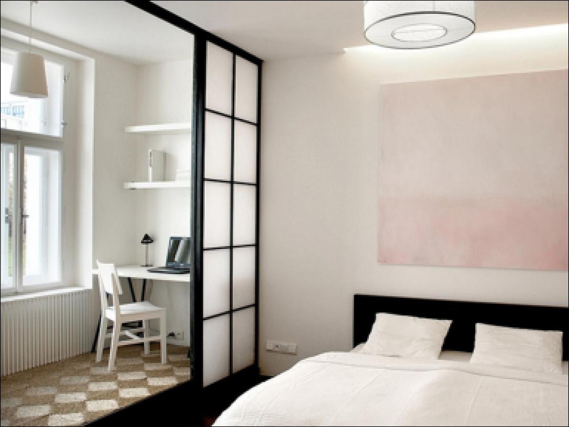 Дизайн спальни с балконом: интерьер совмещенного с лоджией, .