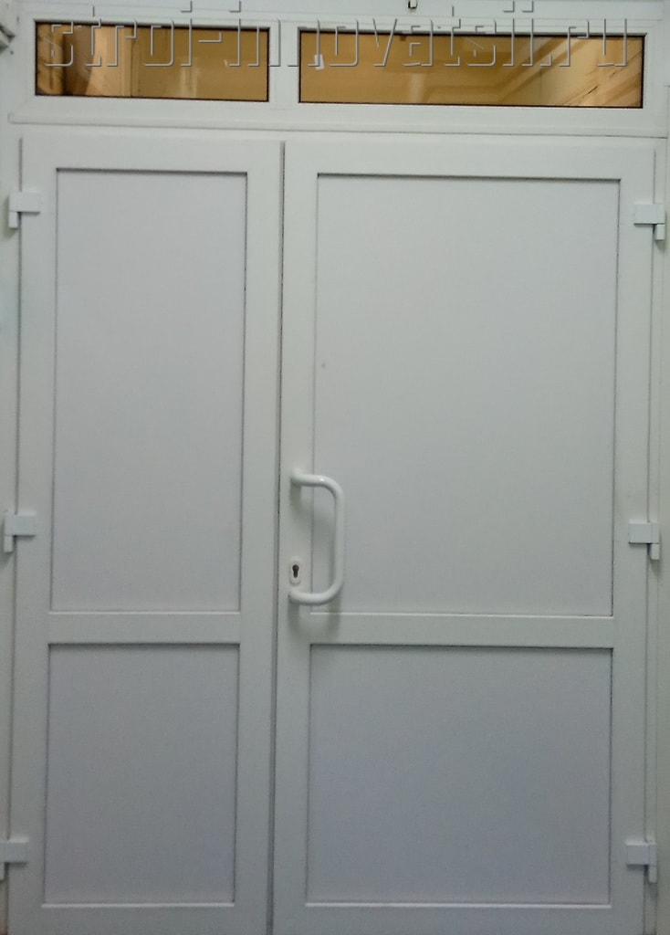 офисные входные двери пвх