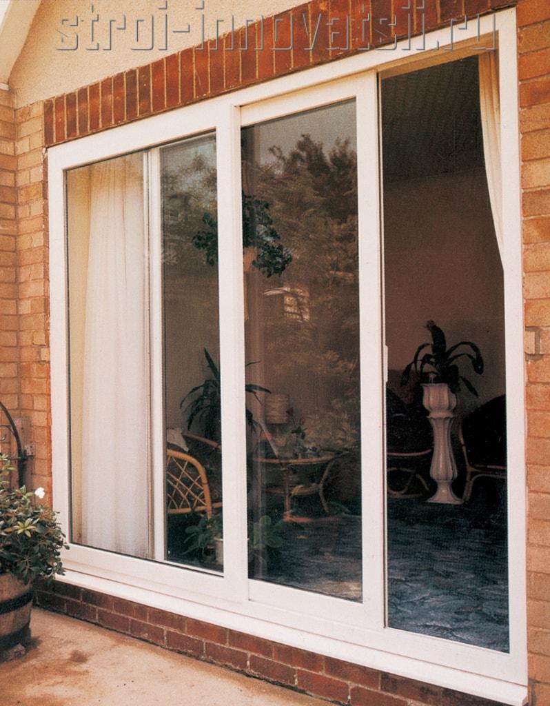 Сдвижные балконные двери.