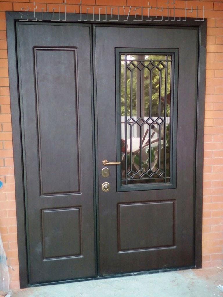 выбор металлической двери для частного дома