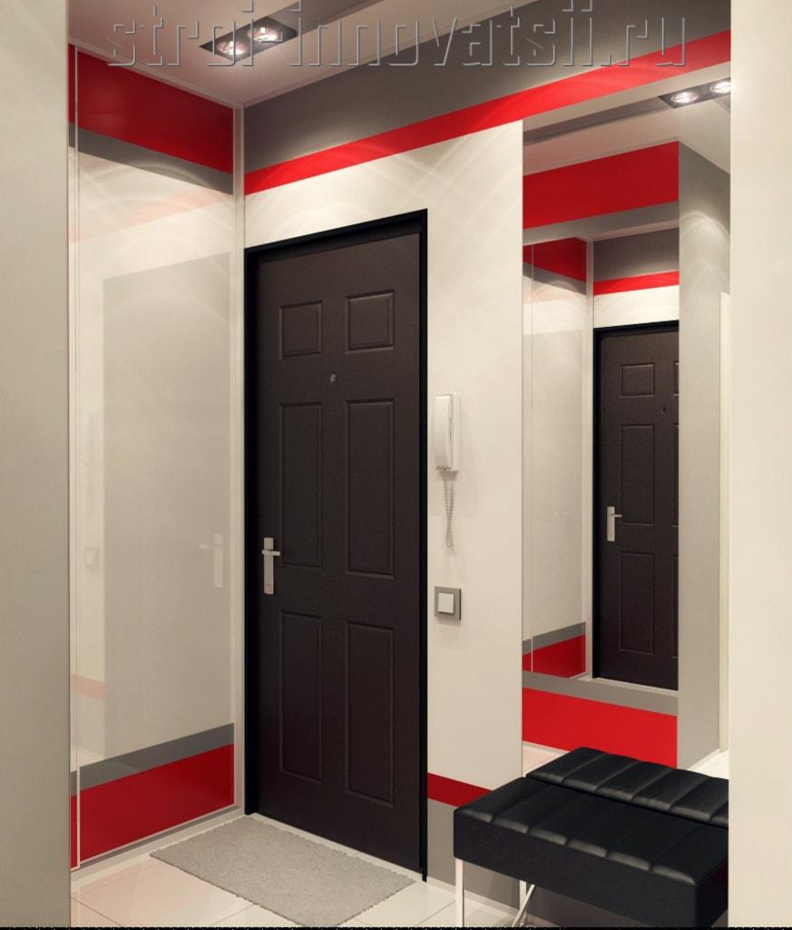 Прихожие в маленький коридор - 100 фото идей дизайна маленьк.