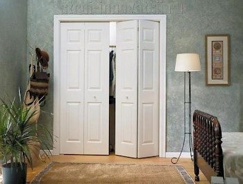 деревянные складные двери гармошка