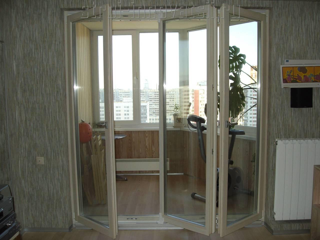 Алюминиевую дверь на балкон.