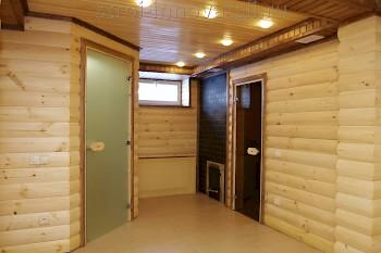 Металлические уличные двери для бани 2